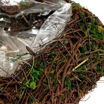 Plant hjertevin, mos 22cm x 25cm H7cm