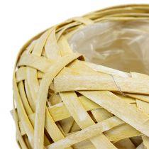Planteskål gul Ø20cm H9cm