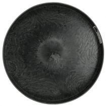 Plastpladesæt med 2 grå Ø22cm - 27cm