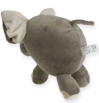 Plys elefant 20 cm grå