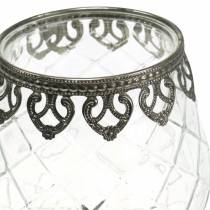 Tealight holder kop antik Ø13cm H18,5cm