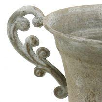 Kop Antikke stil Grå Ø14,5 cm H21cm