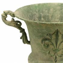 Kop skål antikgrøn Ø20cm H24cm