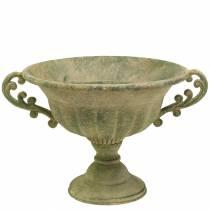 Kopskål antik grøn Ø26cm H20,5cm