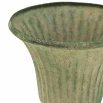 Cup Chalice Antique Green Ø9cm H10cm