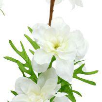 Delphinium kunstig hvid 95 cm