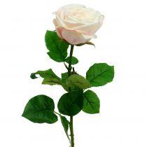 Kunstig rose creme 69cm
