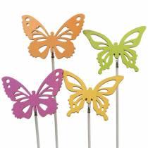 Blomsterknude sommerfugletræ 7x5,5cm 12stk assorteret