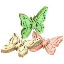 Spredte sommerfugle 2 cm 144stk