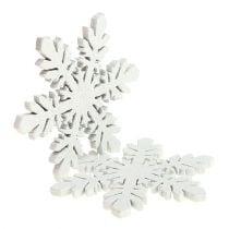 Snefnug lavet af træhvid Ø3,7cm 48p