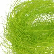 Sisal forårgrønt dekorativt græs 500g