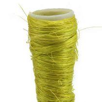 Sisal taske lysegrøn Ø1.5cm L15cm 20stk