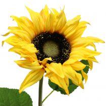 Lang stammet solsikke gul 53 cm