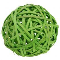 Spanball lysegrøn Ø8cm 4stk