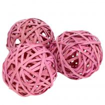 Spanball Pink Ø6cm 6stk