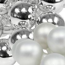 Spejlbær 25mm sølvblanding 140stk