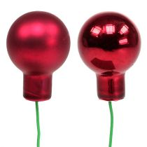 Spejlbær rød blanding Ø25mm 140p