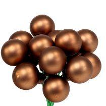 Spejlbær Ø1,5cm brun-guld 140p