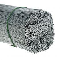 Stifttråd, galvaniseret sølvtråd Ø0,4mm L180mm 1kg