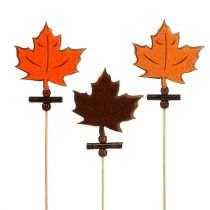 Maple leaf plug ass. 8cm L35cm 12p