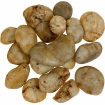 Flodsten naturlig creme 3-5 cm 1 kg