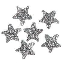 Stjerneglitter 1,5 cm for at drysse sølv 144stk