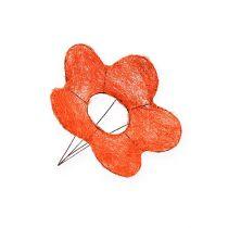 Sisal blomstermanchetter orange Ø15cm 10stk