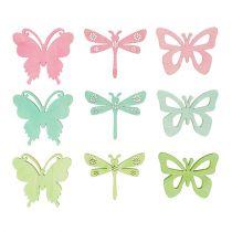 Give-Aways Butterflies & Dragonflies 4cm 72pcs