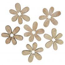 Spredte blomster 2cm natur 144p