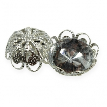 Bryllup scatter dekorations diamanter Ø15mm 48st
