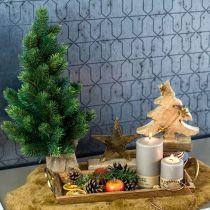 Juletræ i en jutesæk 47cm