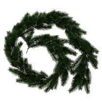 Firkrans rundbundet grønt 190cm
