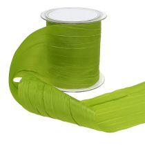 """Bordbånd """"Crash"""" grøn 100mm 15m"""