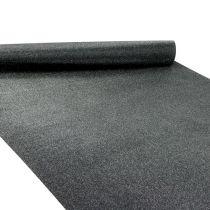 Borddekoration bordløber sort 50 cm 3m