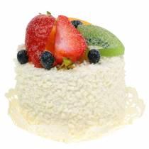 Dekorativ tartlet med frugt jordbærdummimad 7cm