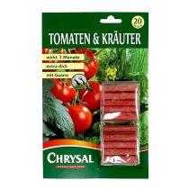 Tomat- og urtegødningspinde (20 stk.)
