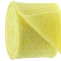 Pot tape filt tape gul med prikker 15cm x 5m