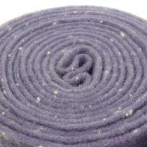 Pot tape filt tape lilla med prikker 15cm x 5m