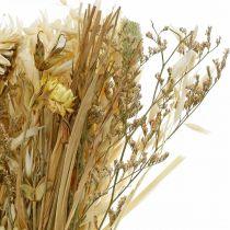 Tørrede blomsterbuket naturlig 45cm