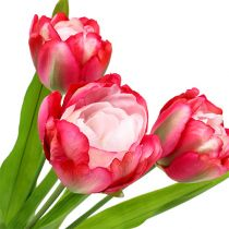 Tulip kunstgrå 60 cm 3stk