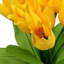 Tulipanbusk gul H30cm