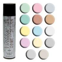 Farve spray vintage forskellige farver 400ml
