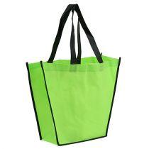 Fleece taske grøn 38cm x 32cm 1p