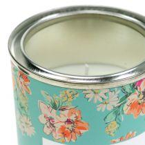 Vanilieduftende stearinlys i blomsterkasse Ø6,5cm