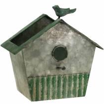 Fuglehus lavet af metal til plantning af H25,5cm