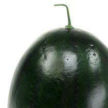 Vandmelon kunstig grøn 30 cm