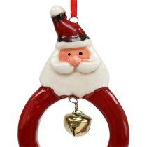 Julefigurer 8cm - 10cm til hængning af 3stk