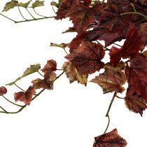 Vine blade hanger green, Bordeaux 67cm