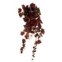 Vine blade hanger grøn, mørkerød 100 cm
