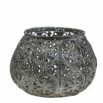 Lantern Orient Antik sølv Ø13cm H9,5cm